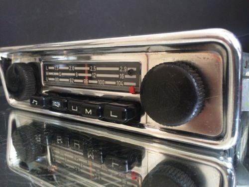 blaupunkt emden vw oem vintage classic car fm radio mp3. Black Bedroom Furniture Sets. Home Design Ideas